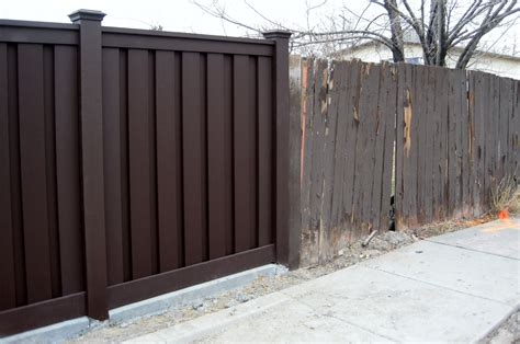 wood alternative fencing trex fencing the composite alternative to wood vinyl