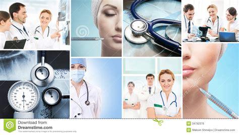 imagenes medicas libres de derechos un collage de im 225 genes m 233 dicas con los doctores foto de