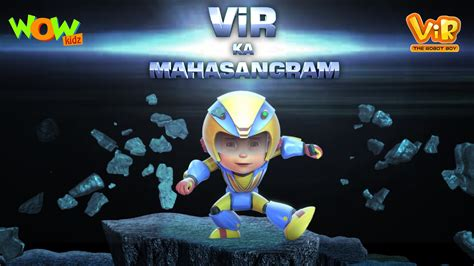 film of robot boy vir ka mahasangram vir the robot boy action movie