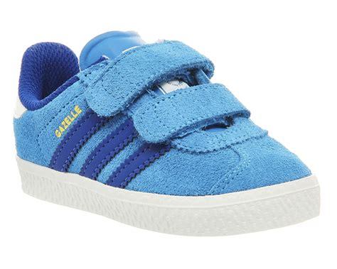 Adidas Gazelle Ii Decon Trainer Icey Blue Ftwr White Original adidas gazelle youth trainers