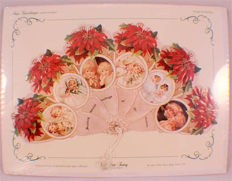 printable vintage greeting cards vintage inspired victorian fan greeting card old print