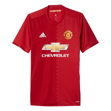 Jersey Manchester United 2016 2017 adidas manchester united home mens adizero jersey 2016 2017 in excell sports uk