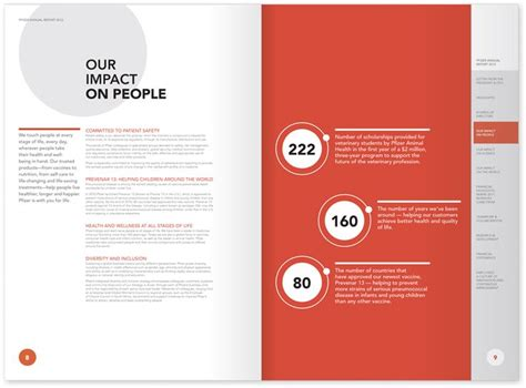 pinterest report layout best annual report designs pfizer annual report our