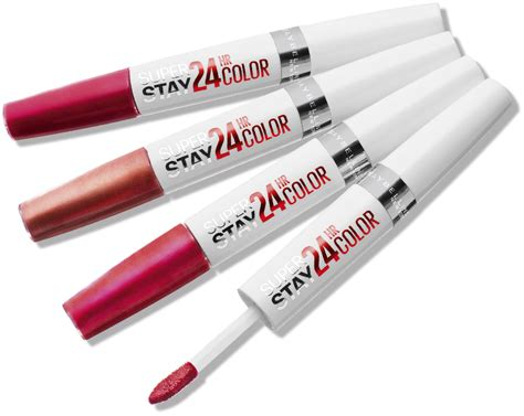 Maybelline Superstay Lipstick maybelline new york superstay 24hr lip color reviews