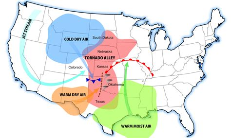 tornado alley texas map animated tornado probability map recoil offgrid