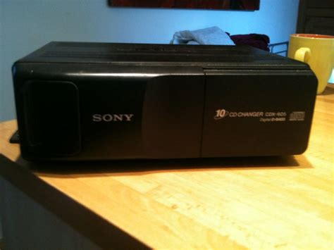 free sony cdx 605 car cd changer 10 disc the brick yard