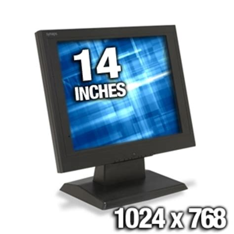 Monitor Lcd 14 Inch Bekas buy the synaps 14 lcd monitor 1024x768 at tigerdirect ca