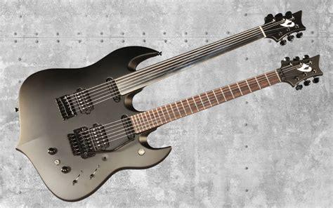 Kaos Ibanez Guitar vigier bumblefoot signature neck black electric guitar