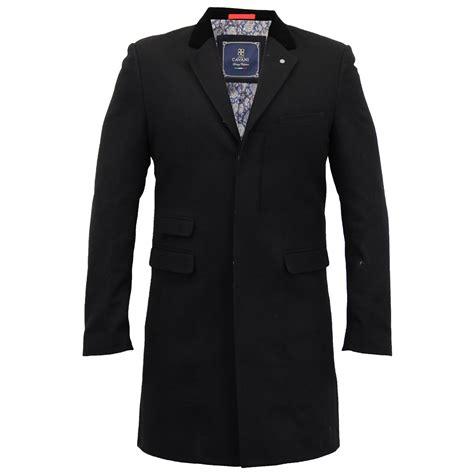 Jaket Mix Line mens wool mix jacket cavani trench coat slim fit