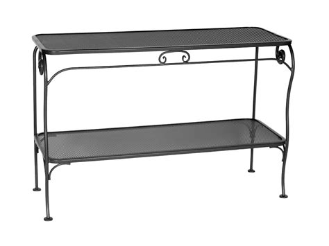 outdoor wrought iron console table wrought iron sofa table that will fascinated you homesfeed