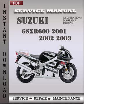 small engine repair manuals free download 2002 suzuki grand vitara interior lighting suzuki gsxr600 2001 2002 2003 factory service repair manual downloa