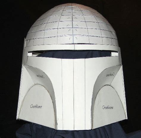 armor templates wars diy boba fett helmet blueprints templates props