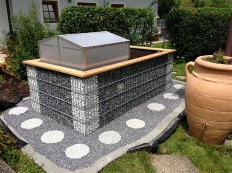 terrasse hã als garten hochbeet gabione pflantzbeh 228 lter in schalchen