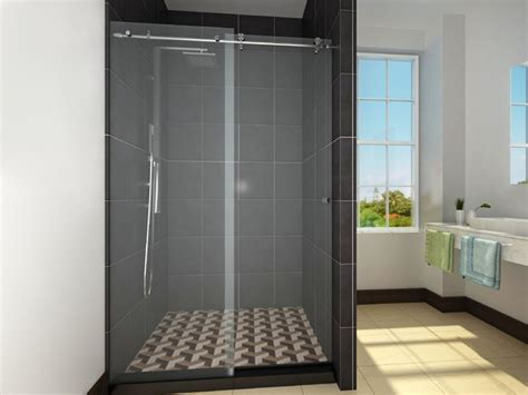 Frameless Sliding Glass Shower Doors For Tub Frameless Shower Enclosures Sliding Doors