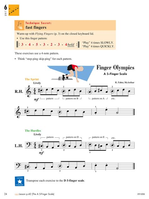 the psychology of piano technique faber edition piano professional series books piano adventures 174 level 2a technique artistry book 2nd