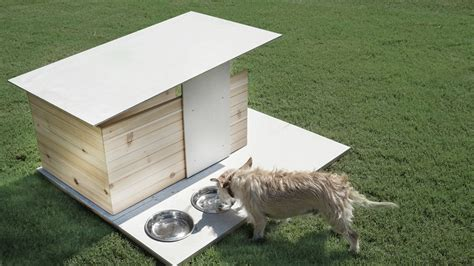 modern dog house puphaus a modern dog house from pyramd design co dog milk