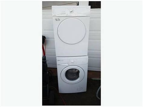 Apartment Size Washer And Dryer Sets 24 Quot Apartment Sized Moffat Washer Dryer Set In Excellent