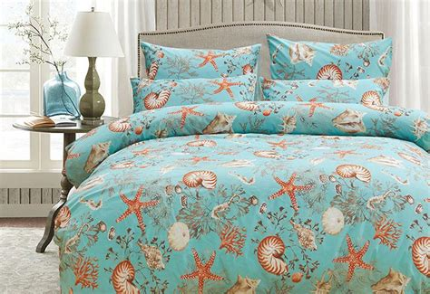 japan s quality luxury brand sea blue king shell bedding