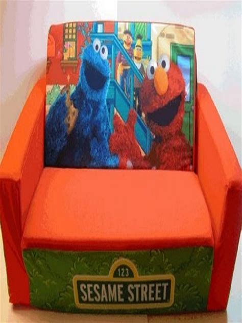 sesame street couch cheerful kids sofa hometone