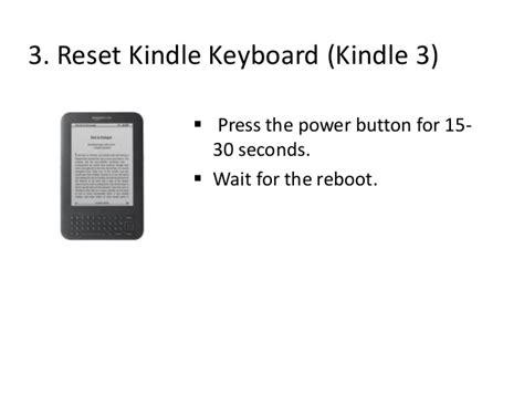 reset kindle online kindle dx reset button