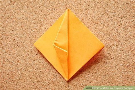 Origami Pumpkins - how to make an origami pumpkin 14 steps with pictures