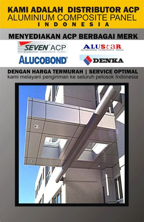 Panel Seven harga aluminium composite panel seven paling murah harga