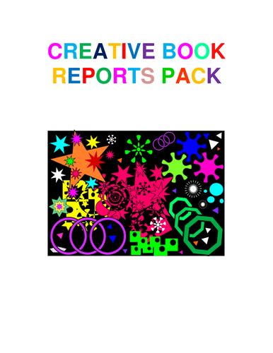 creative book reports 21st century literacies shop teaching resources tes