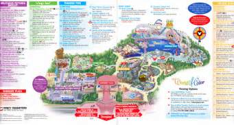 disney california adventure 2011 park map