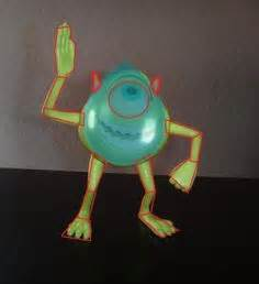 te ensenamos a hacer tu propia pinata de mike wazowski monsters inc aprende a hacer una pi 241 ata de mike wasowski learn to make