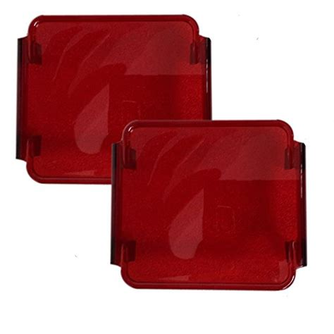 red plastic tail light material ourbest 3 inch red cover fit aftermarket led trailer tail