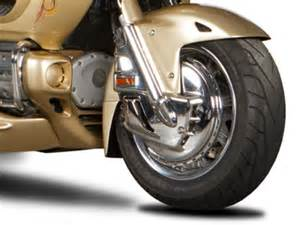 Car Tire On A Goldwing Motorcycle 2013 Hannigan Trikes 180 Front End For Honda 1800 Gold