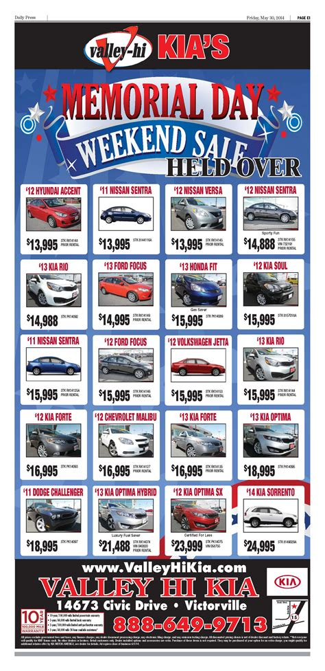 car ads 2016 newspaper car ads gallery