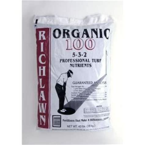 richlawn organic   lb omri listed    lawn
