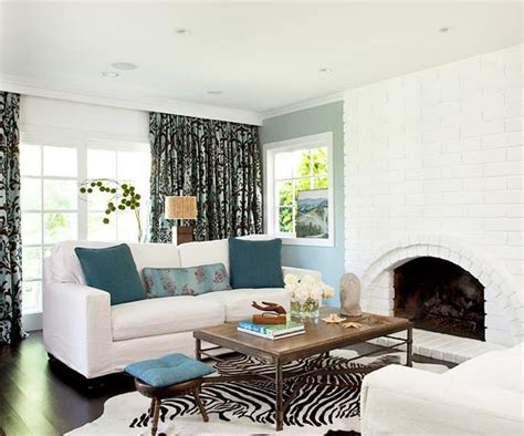 Decorating Tips For Living Room by 20 Blue Living Room Design Ideas