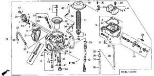 Honda 350 Rancher Parts 2003 Honda Rancher Carburetor Diagram Car Interior Design