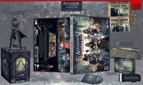 Bd Ps3 Kaset Syndicate assassin s creed syndicate charing cross pc box cover by razor1911 bd