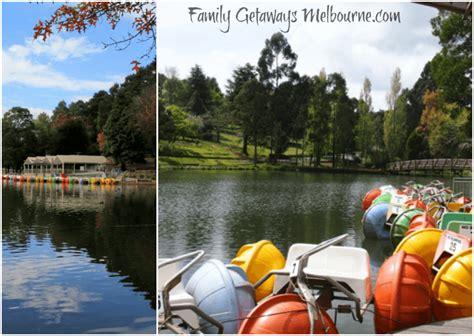 paddle boats victoria park facilities at emerald lake park