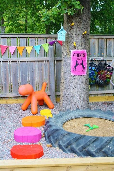 diy backyard toys creative and fun outdoor kids play areas digsdigs