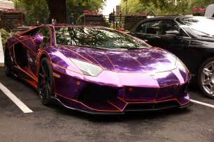 Lamborghini Purple Chrome Purple Chrome Lamborghini Aventador Purple Lamborghini