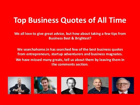 best quotes of all time top business quotes of all time