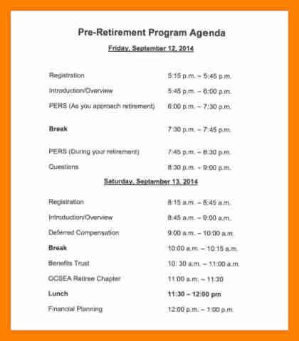 11 sle retirement program sales clerked