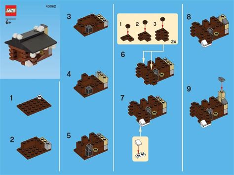 lego creations tutorial this month s free lego monthly mini model build is a log
