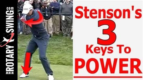 improve your golf swing henrik stenson golf swing 3 to improve your power