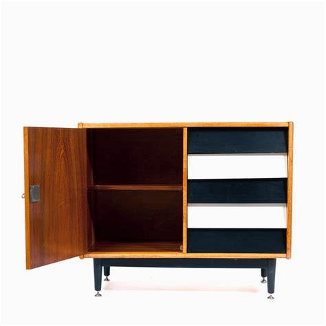 Black And White Chest Of Drawers Vintage Wooden Chest Of Drawers With Black And White Drawers Nanovo