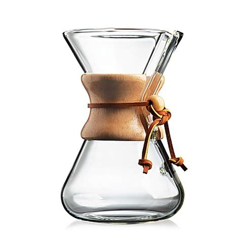 bed bath and beyond chemex buy chemex 174 handblown 5 cup coffee maker from bed bath