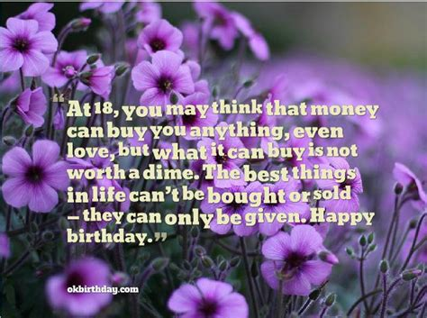 Happy 18 Birthday Quotes 18 Birthday Quotes Quotesgram