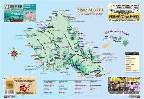 Oahu Visitor Magazine   Kahala Map Map