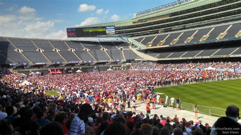 soldier field section 130 soldier field section 128 concert seating rateyourseats com