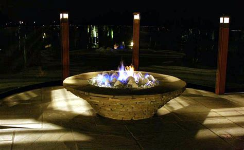 Glass Firepit Luxury Design Glass
