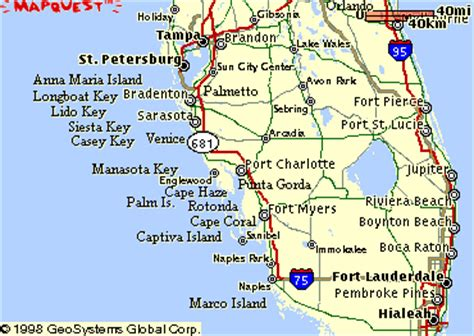 map of southwest florida south west florida gulf coast map
